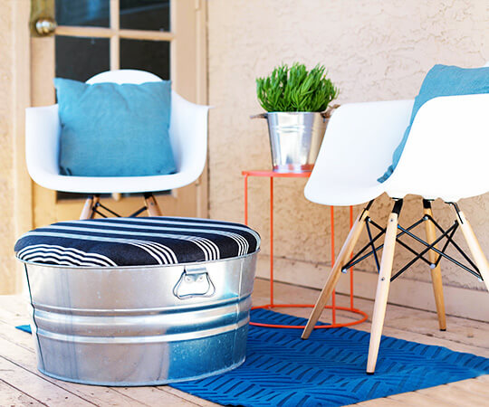 5 ways to make the most of small outdoor spaces