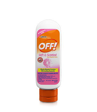 OFF!® Soft & Scented Insect Repellent Lotion